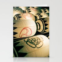 Japanese Festival Laterns in Gion, Kyoto Stationery Cards