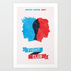 Fight Club Art Print