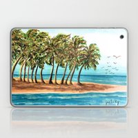 Private Island Painting Laptop & iPad Skin