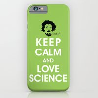 Keep Calm and Love Science iPhone 6 Slim Case