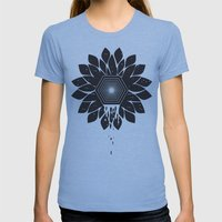 Tragedy Womens Fitted Tee Athletic Blue SMALL