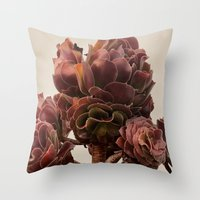 Wild & Succulent Throw Pillow