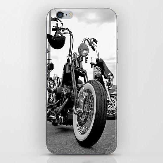 Roadside chopper iPhone & iPod Skin
