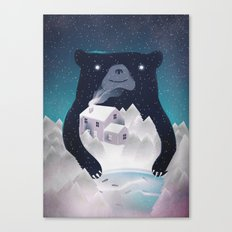 I ♥ Winter Canvas Print