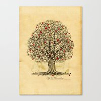 Chemistree Canvas Print