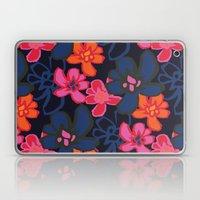 Camelia Woodcut - Winter Laptop & iPad Skin