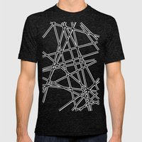 To The Edge Black #2 Mens Fitted Tee Tri-Black SMALL