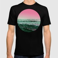 Wild Summer Mens Fitted Tee Black SMALL