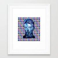 D.B. Tribute - PopART Framed Art Print