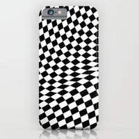 iPhone Cases featuring hypnotic waves by haroulita