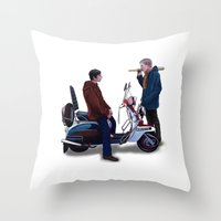 Jimmy Casual Throw Pillow