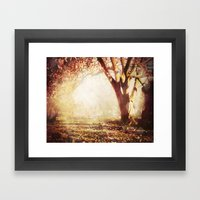 Greenlawn Cemetery Framed Art Print