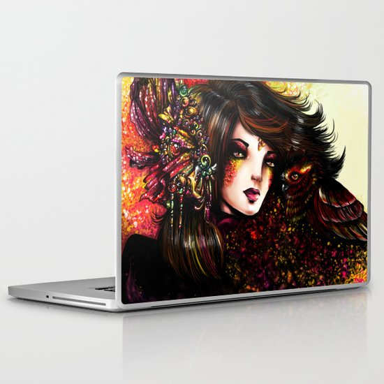 WILD WOMAN Laptop & iPad Skin