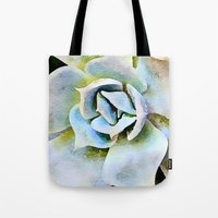 Shady Succulent Tote Bag
