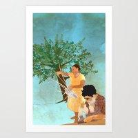 Artisans Art Print