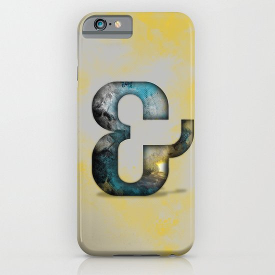 Ampersand Series - Silom Typeface iPhone & iPod Case