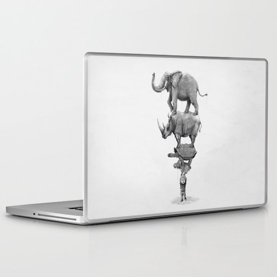 In Your Hands Laptop & iPad Skin