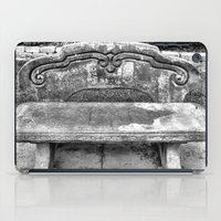 Lone Bench iPad Case