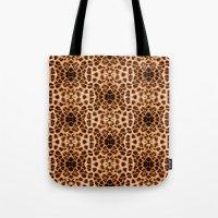 Leopard Print Kaleidosco… Tote Bag