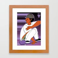 1001 Black Men--#504 Framed Art Print