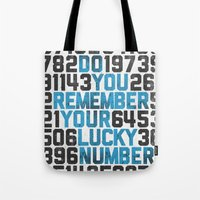 Do You Remember Your Luc… Tote Bag