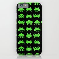 iPhone & iPod Case featuring Space Invaders by Crazy Thoom