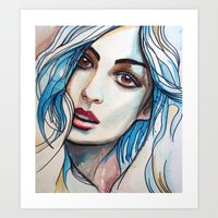 Cloe Art Print