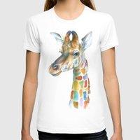 giraffe T-shirts featuring Giraffe by Brandon Keehner