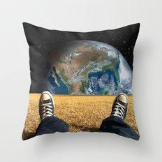 World view Throw Pillow