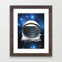 Astro Static Framed Art Print
