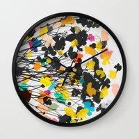 buttercups 2 Wall Clock