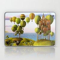 City In The Sky_Lanscape… Laptop & iPad Skin