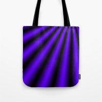 Violet and Black Tote Bag