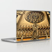 Laptop & iPad Skin featuring Arudel Cathedral Entrance by Serenity Photography