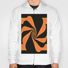Abstract. Orange+Yellow. Hoody