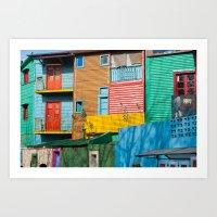 El Caminito Art Print