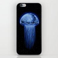 Moon Jellyfish iPhone & iPod Skin