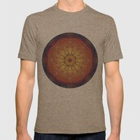 Warmth Mens Fitted Tee Tri-Coffee SMALL