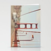 San Francisco Golden Gate Bridge. A Memory SF Stationery Cards