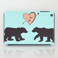 Polar Bear Love iPad Case