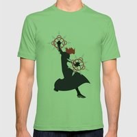 Axel Mens Fitted Tee Grass SMALL