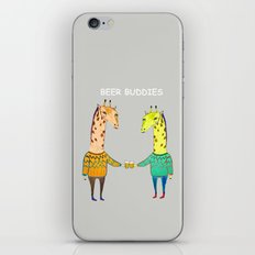 Beer Buddies iPhone & iPod Skin
