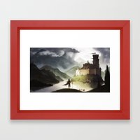 Lakeside Framed Art Print