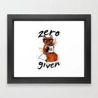 The F Word Framed Art Print