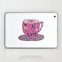 Cup Full Of Love Laptop & iPad Skin