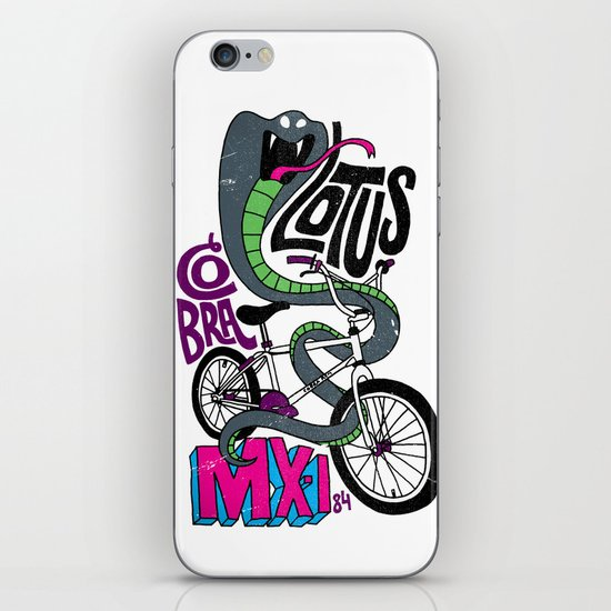 Lotus BMX iPhone & iPod Skin