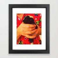 Stunk Skunk Framed Art Print