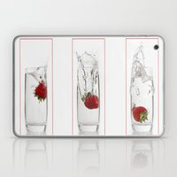 Strawberry Splash Laptop & iPad Skin