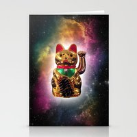 Space Kitty Stationery Cards