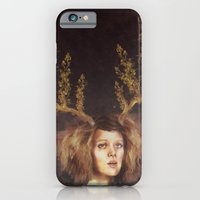iPhone & iPod Case featuring The Golden Antlers by Galvanise The Dog